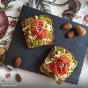 recetas con pan aleman ketterer | @marta.realfood